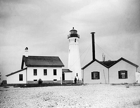 The Skillagalee lighthouse in 1888 (Coast Guard)