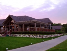 The clubhouse at Birchwood Farms Golf & Country Club