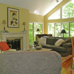Living Room - Foxcroft Vacation Rental, Birchwood Farms Golf & Country Club