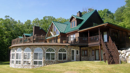 Timber Ridge Log Home