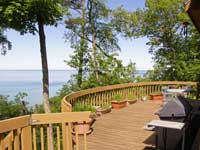 Eagle View Deck with Lake views