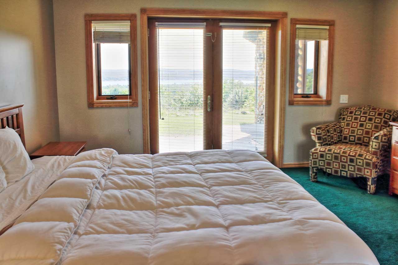 Timber Ridge Log Home Boyne City Vacation Rental With