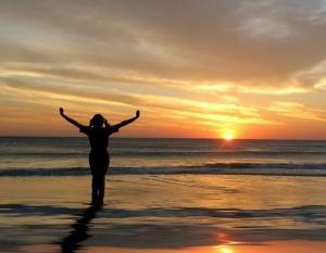 Beach-Play-Sunset