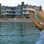 LeBear Resort from Lake Michigan