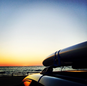 paddle board - petoskey state park