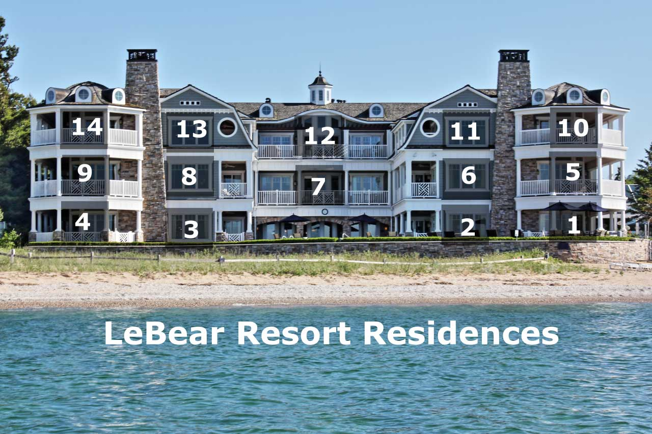 LeBear Resort Residences by Floor