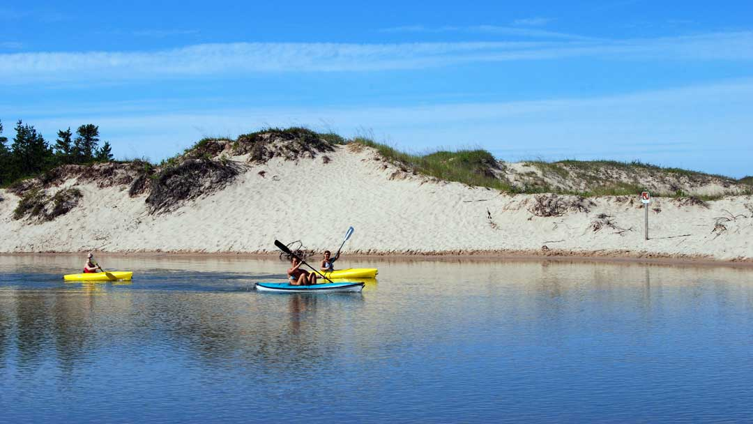 Kayaking the Platte River (National Park Service/CC BY 2.0)