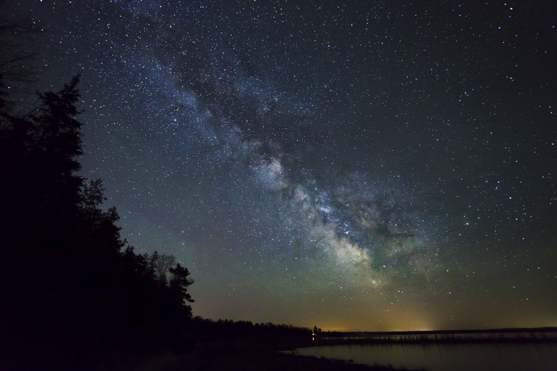 The Headlands International Dark Sky Park near Mackinaw City, MI