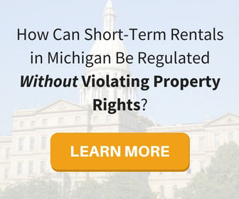 Michigan Short-Term Rental Regulation