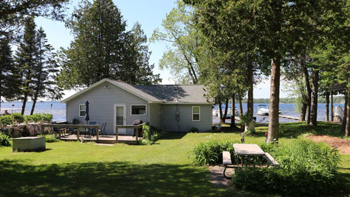 Sunset Shore - vacation rental on Pickerel Lake