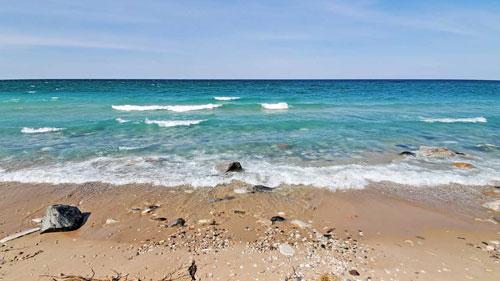 Tree Fort Lake Michigan beachfront vacation rental
