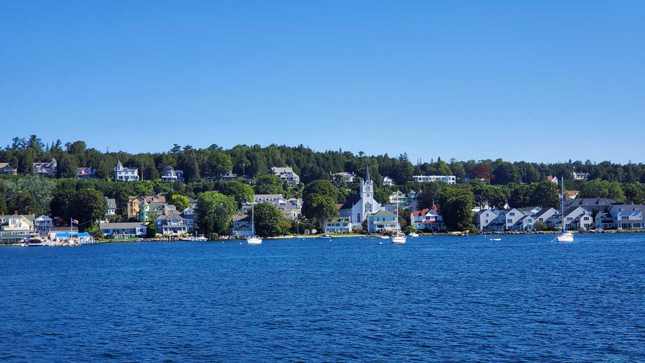 Mackinac Island town