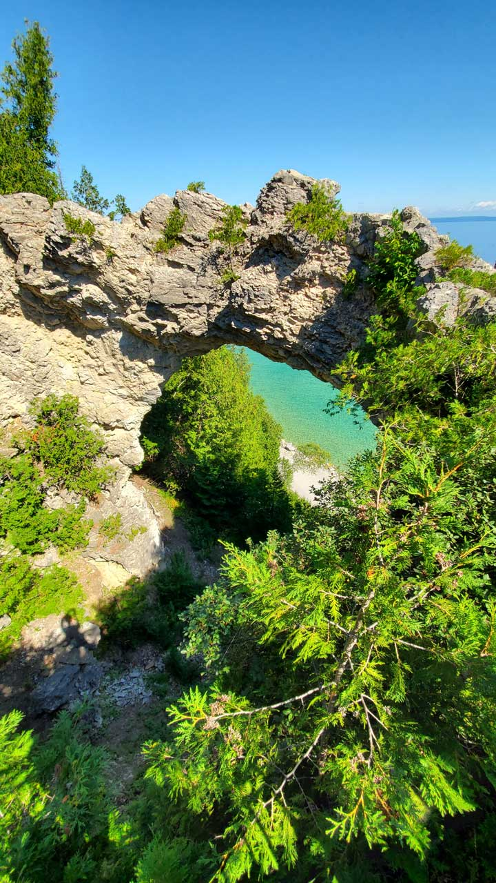 Mackinac Island, Arch Rock