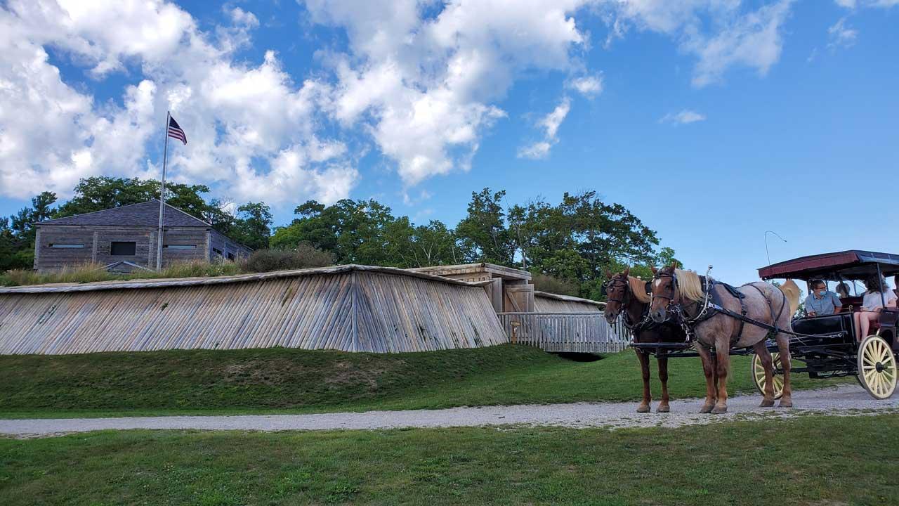 Mackinac Island, Fort Holmes